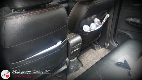 Hình ảnh thực tế hộp tỳ tay Honda City